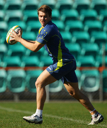 """DREW MITCHELL: """"To be honest no one here's really talking about it [Quade Cooper's move into boxing]."""""""