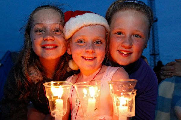 Lighting up for Christmas: Families can enjoy singing, music and dance at the Hutt Rec this Saturday to get into the Christmas swing.