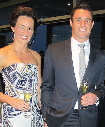 EXPECTING: Honor and Dan Carter.