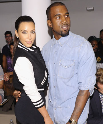 "INTRODUCTIONS: Kanye West reportedly introduced Kim Kardashian to ""his mother's side of the family""."