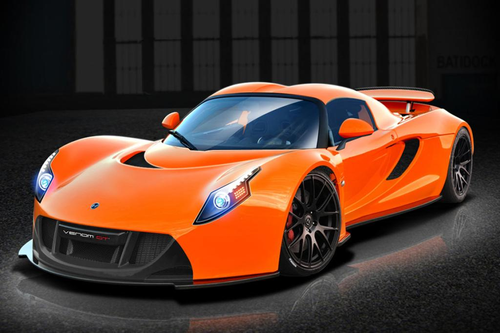 The Hennessey Venom GT2.