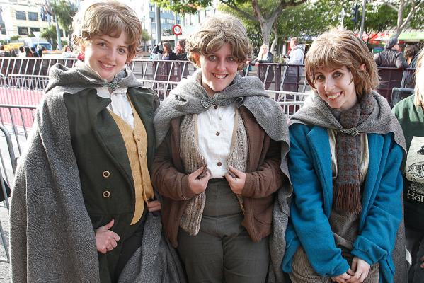 The Hobbit: The fans get ready