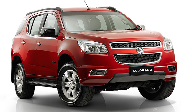 NOT A SOFT-ROADER: Holden's new Colorado 7.