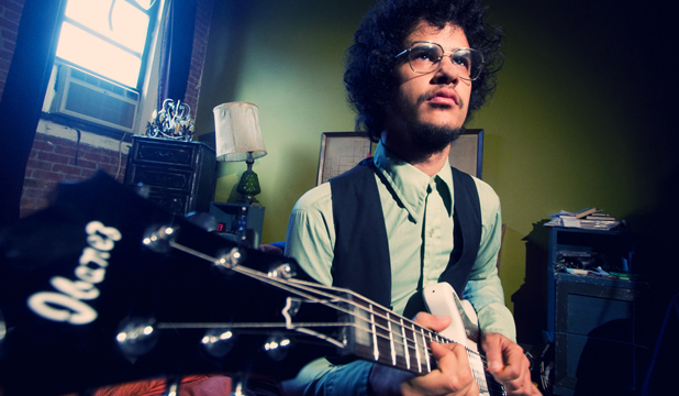 Restless musical soul: Omar Rodriguez and his band provided a hypnotic performance in Wellington.