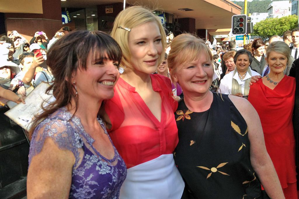 Cate Blanchett at Hobbit premiere