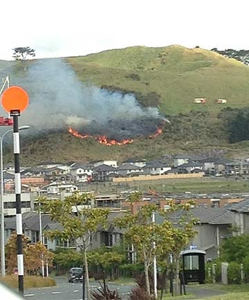 mt wellington fire