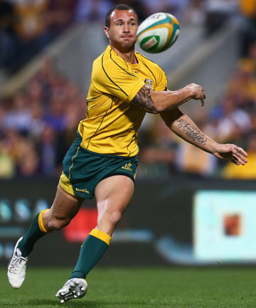 SERVICES REQUIRED: Warren Gatland says the Wallabies need the unique skills of Quade Cooper.