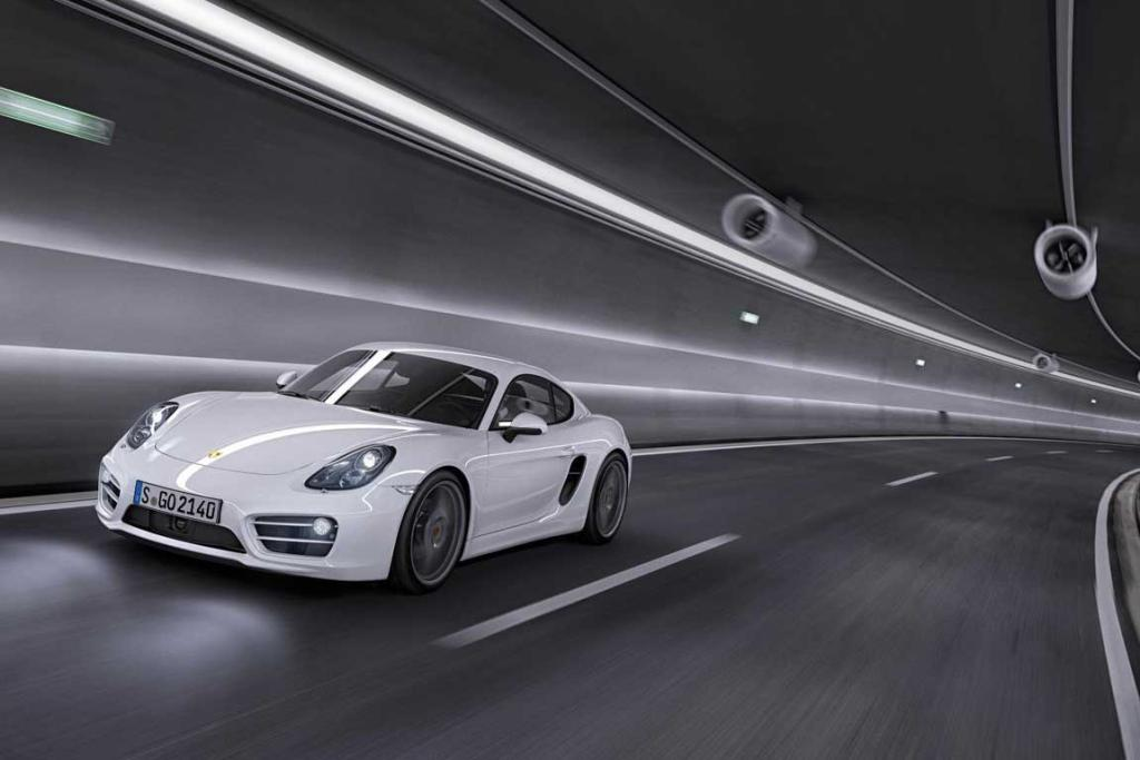 The new Porsche Cayman.