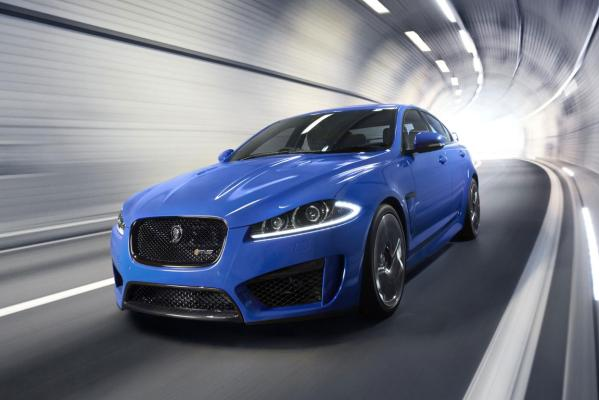 Jaguar's new XFR-S sedan.