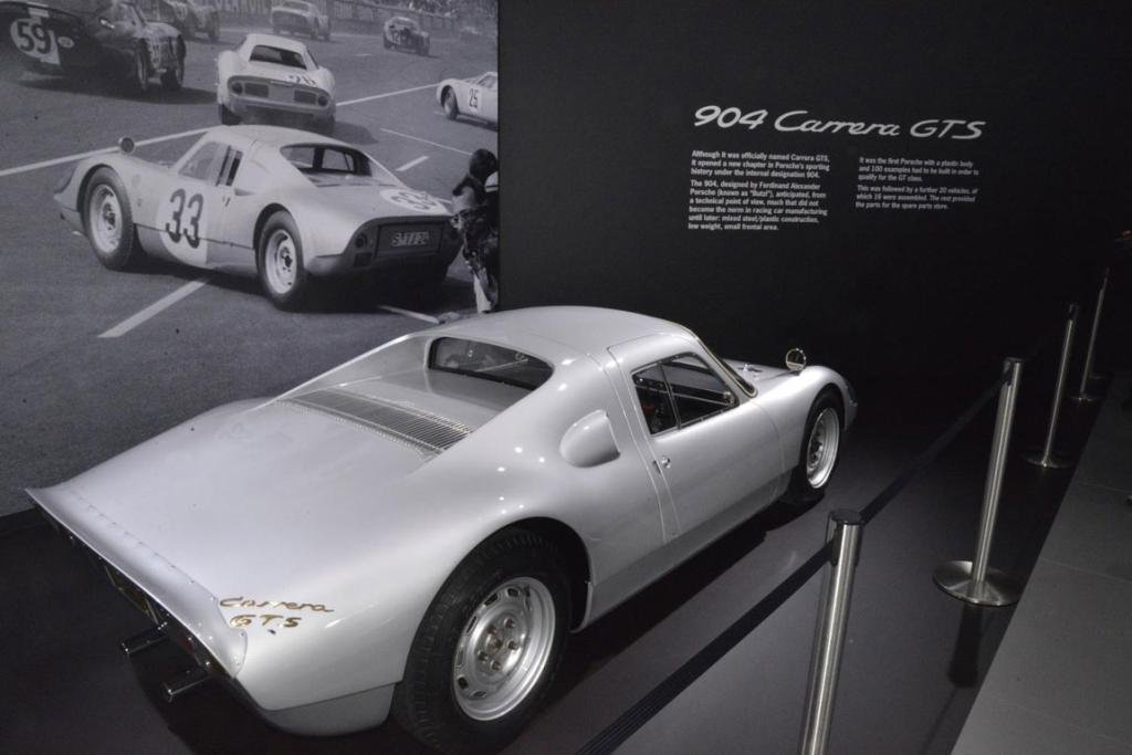 The Porsche 904 Carrera GTS at the 2012 Los Angeles Auto Show in Los Angeles.