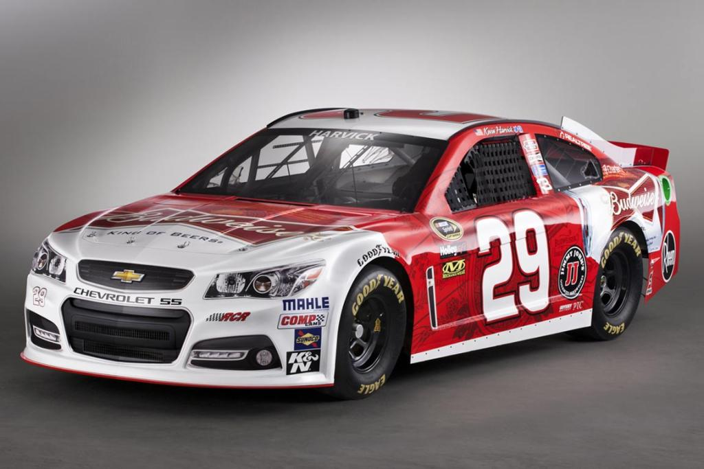 New Chevrolet SS Nascar gives design clues for new VF Commodore.