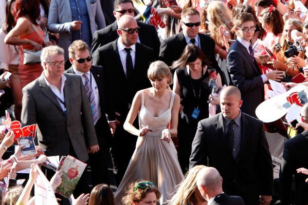 Arias 2012: Red carpet