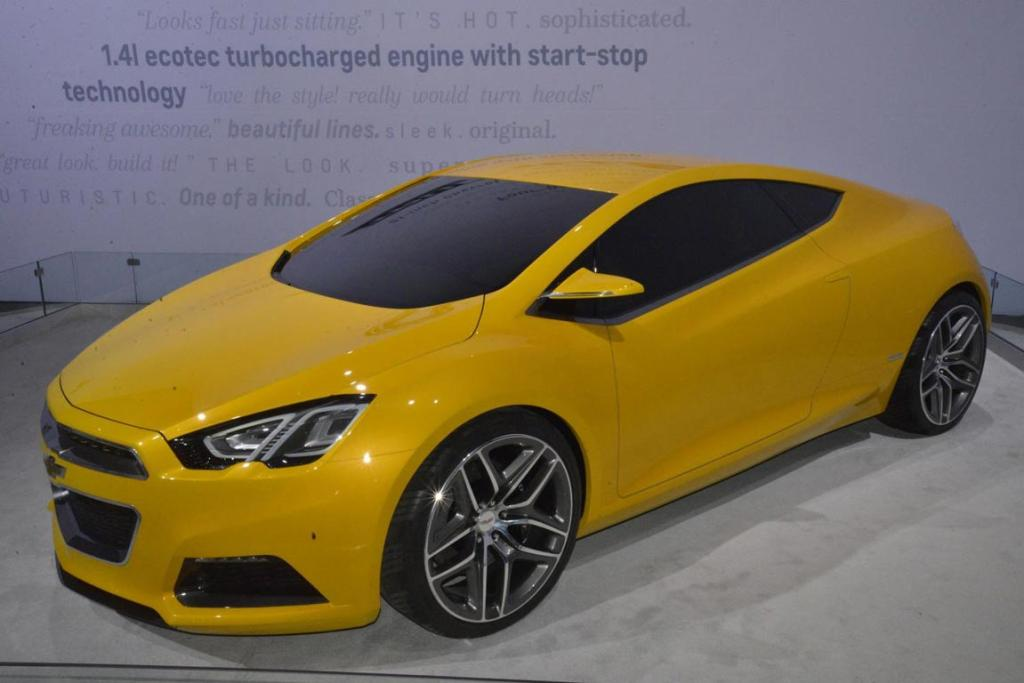 The Chevrolet TRU 140S at the 2012 Los Angeles Motor Show.