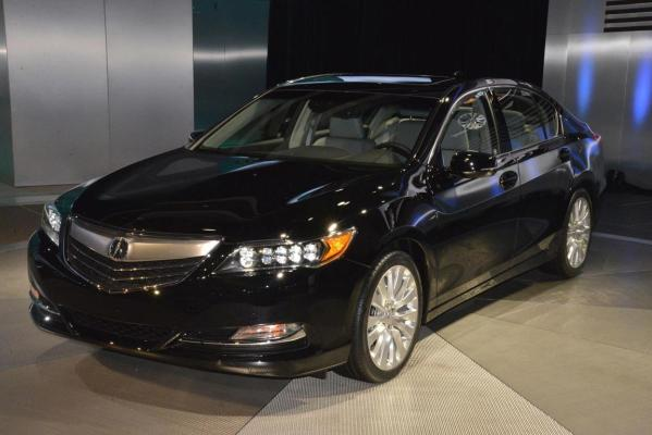 The Acura RLX at the 2012 Los Angeles Motor Show.