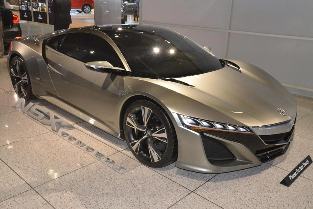 Honda's NSX Concept at the 2012 Los Angeles Motor Show.