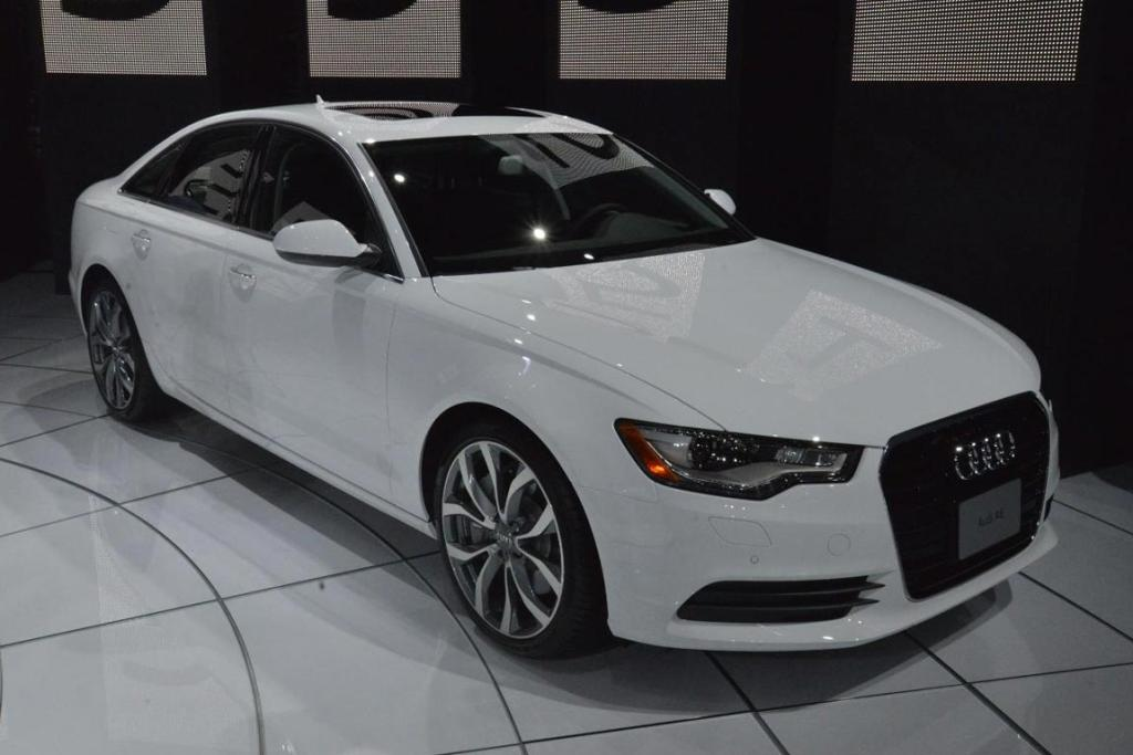 Audi's A6 at the 2012 Los Angeles Motor Show.