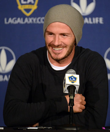 PLENTY OF CHOICES: David Beckham says he is flattered by the many options being thrown his way for his post-Galaxy career.