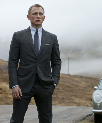 MISANTHROPE: Daniel Craig as James Bond in Skyfall.