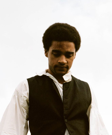 New heights: James Howson plays Heathcliff as a newly freed slave in a retelling of Wuthering Heights.