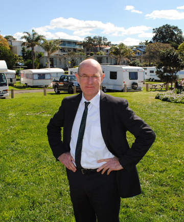 NORTHERN MAN: Devonport-Takapuna local board chairman Chris Darby.