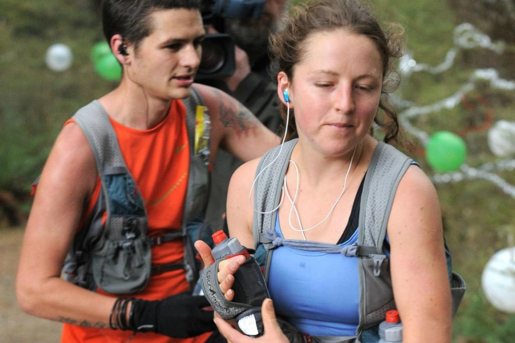 Ruby Muir was the leading woman through the Iris Burn during the Kepler Challenge with Kristian Day just behind her.