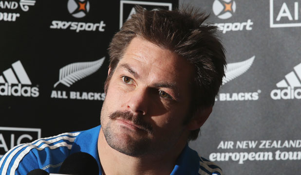 OLD FOES: Richie McCaw says England have not lost their status as the team the All Blacks most love to beat.