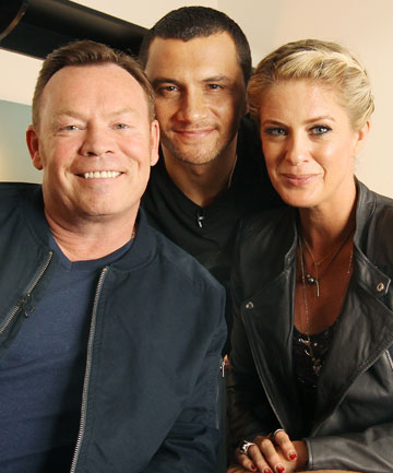 New Zealand's Got Talent judges Ali Campbell, Jason Kerrison and Rachel Hunter.
