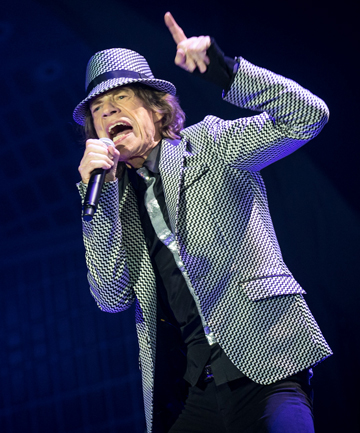 STILL GOT IT: Mick Jagger performs live with The Rolling Stones at 02 Arena on November 25, 2012 in London, England.