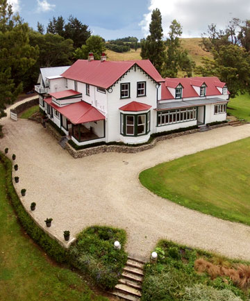 GRACIOUS: Ashcott Homestead, between Onga Onga and Ashley Clinton,  in Central Hawke's Bay. It once hosted a Prince of Wales and Prime Minister Richard Seddon.