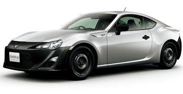 JAPANESE SPECIFICATION 86 RC: In its home country the model even does without alloy rims, making it even less expensive.