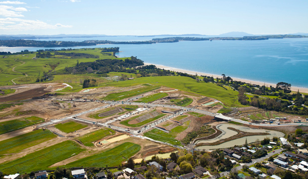 162 HECTARES: Part of the new Long Bay development is now open to the public.