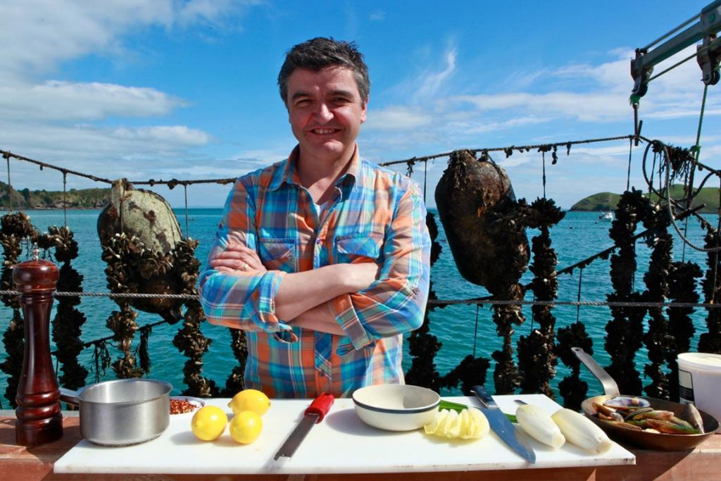 INSPIRATION:Meat-lovers can pick up some handy tips and tricks for the kitchen from Australian-based chef Sean Connolly on Saturday.