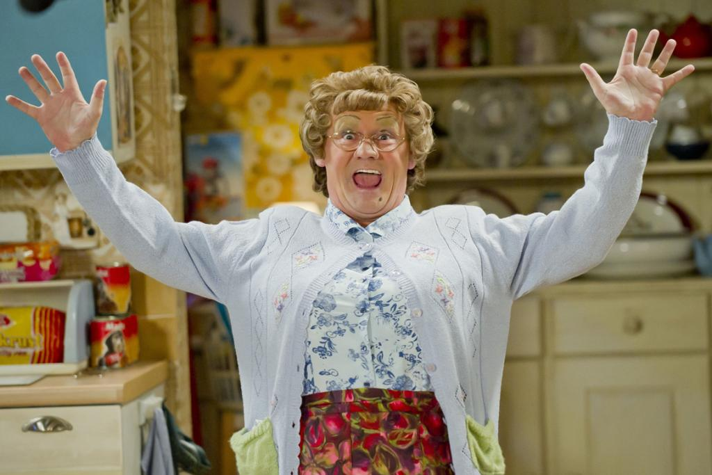 CHRISTMAS CHEER: Fans of mammy Agnes Brown will enjoy this special Christmas episode of Mrs Brown's Boys on Thursday.