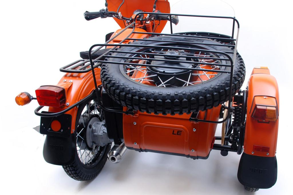 The 2012 Ural Limited Edition Yamal.