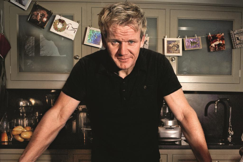 SILENT CHEF: Watch foul mouthed chef Gordon Ramsay show you how to whip up a festive feast. Let's hope he keeps in the Christmas spirit this Tuesday.