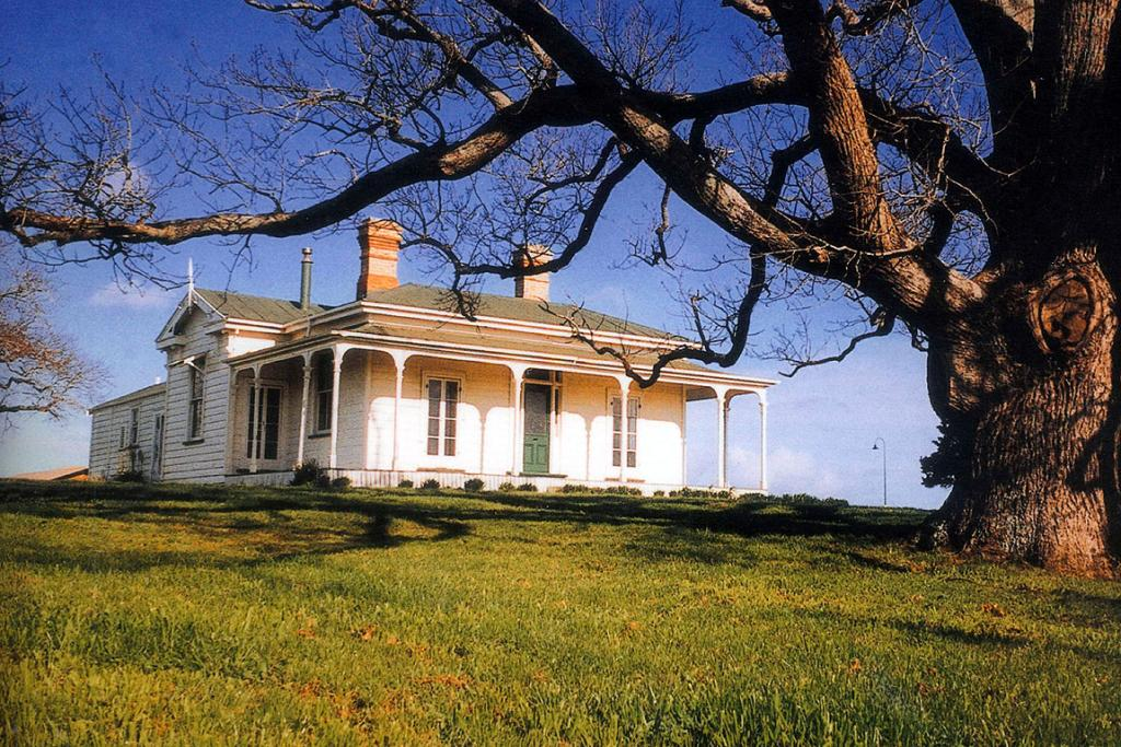 The homestead in more prosperous times.