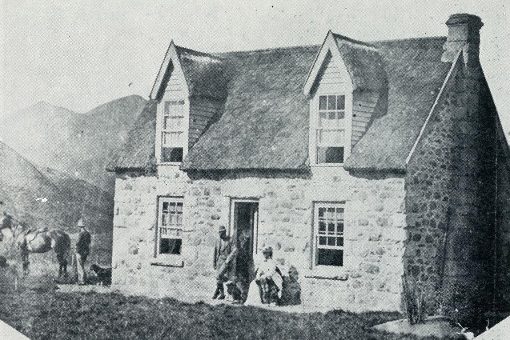 HOME SWEET HOME: Clayton Station homestead in 1878 behind Fairlie.