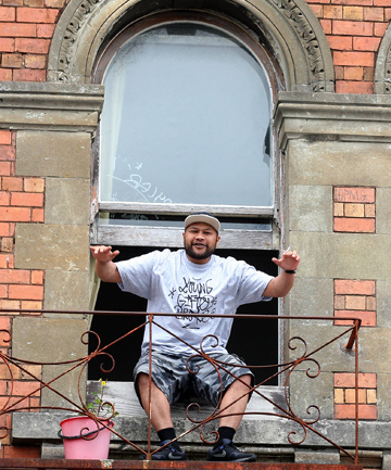 BEAT MAKER: Harry ''Haz Beats'' Huavi has seen his rap group Home Brew reach lofty heights over the past six years.