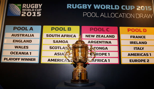 HORROR IN POOL A: Hosts England, Australia and Wales will have to battle it out for two spots in the quarter-finals.