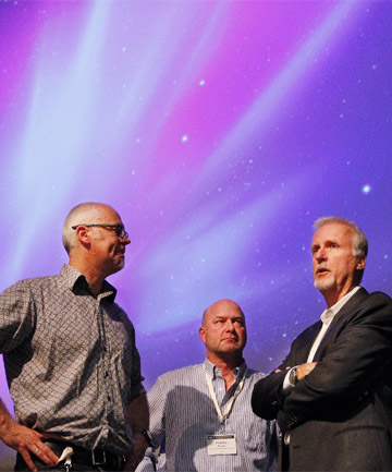 James Cameron at Te Papa