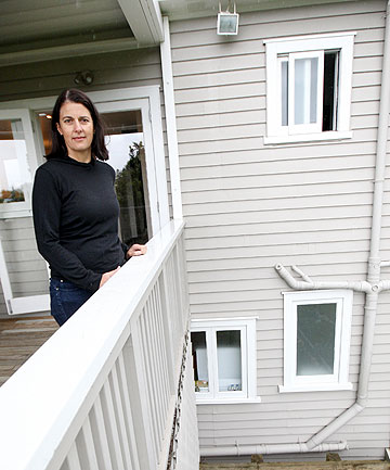 SECURITY CONSCIOUS: A Remuera woman who wishes only to be known as Kirsty couldn't believe it when burglars found their way into her second storey window.