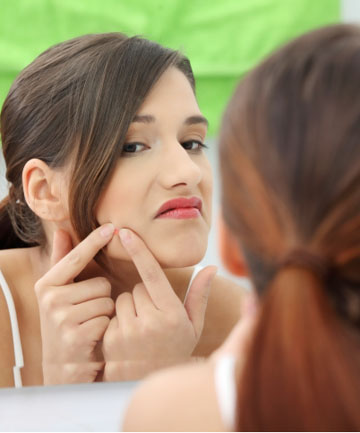GENTLY DOES IT: There is a right way and a wrong way to squeeze those pesky pimples.