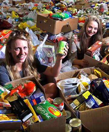New Plymouth foodbank drive