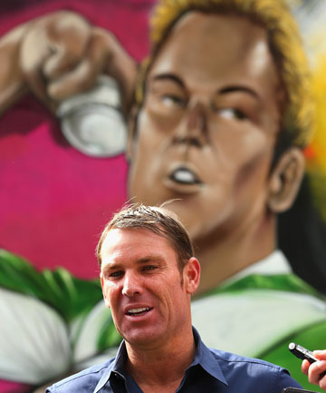 STILL RIP 'EM: Shane Warne insists if he was asked to play a test match tomorrow he could still dominate.