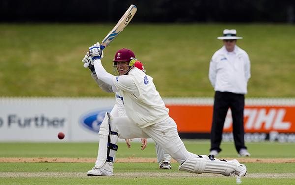 Nothern Districts made 410-5 declared in the second innings of their fourth round match against the Canterbury Wizards at Seddon Park in Hamilton.