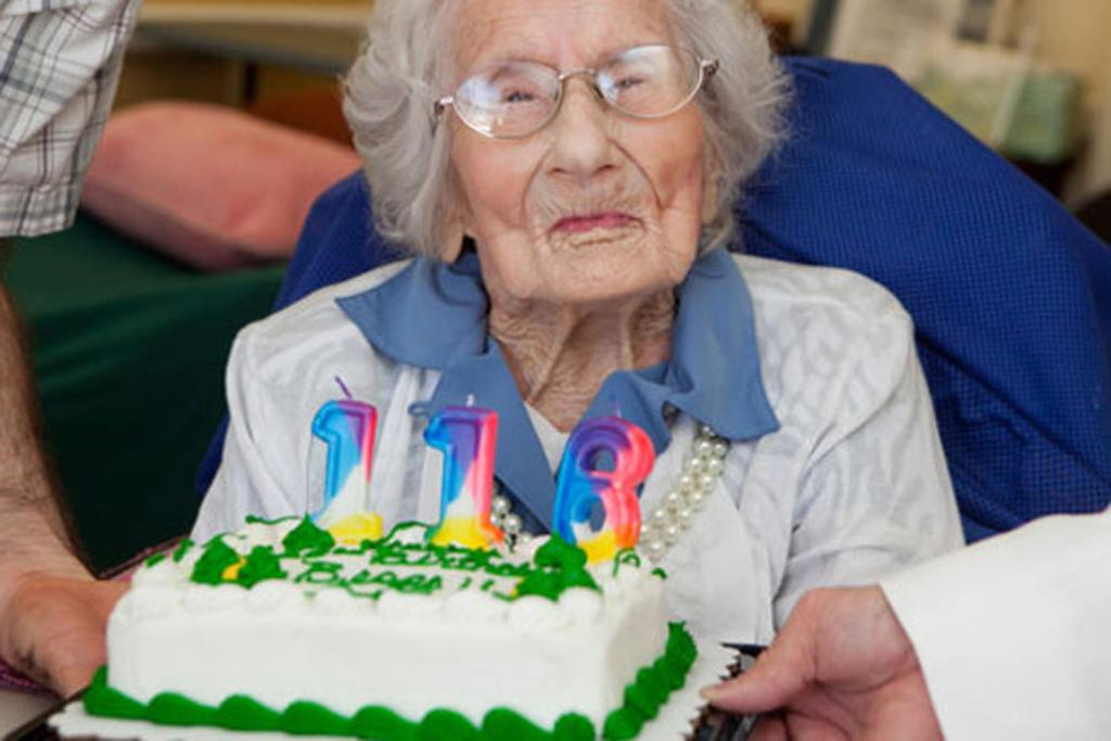 AT PEACE: The world's oldest person Besse Cooper died age 116.