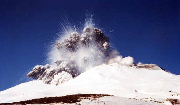 Mr Ruapehu eruption