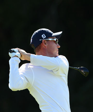 STRONG START: Gareth Paddison has fired a first round 68 to be up with the leaders after the first round at the Australian Open.