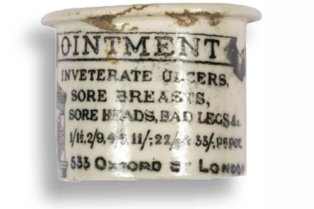 The London makers of this ointment had great confidence in its powers.