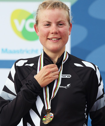 HOME, SWEET HOME: Linda Villumsen has opted to stay in New Zealand, rather than competing on the European road circuit, to plot her next Olympic campaign.